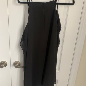 BCBG Ruffle Trimmed Mini Dress